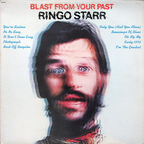 RINGO STARR - BLAST FROM YOUR PAST LP