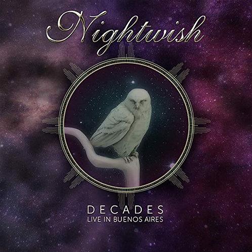 NIGHTWISH - DECADES LIVE IN BUENOS AIRES DUPLO DVD