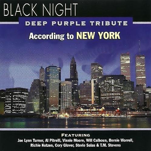 BLACK NIGHT - DEEP PURPLE TRIBUTE CD