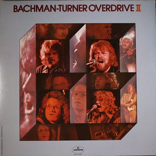 BACHMAN-TURNER - OVERDRIVE ll LP