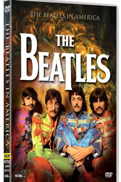 THE BEATLES - IN THE AMERICA DVD