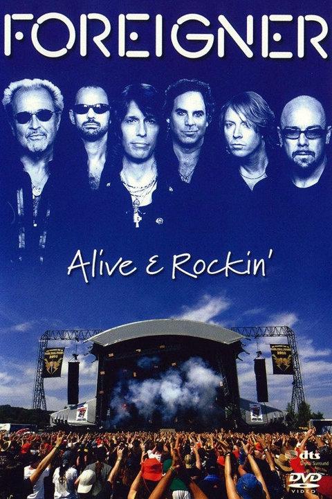 FOREIGNER - ALIVE E ROCKIN´ DVD
