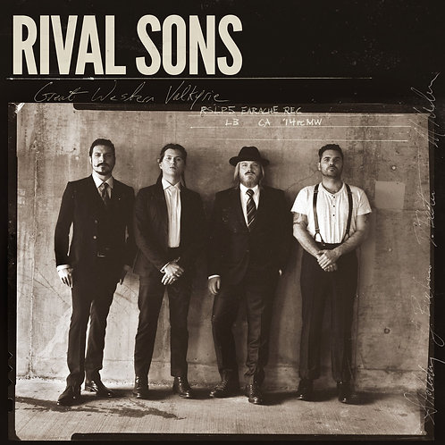 RIVAL SONS - GREAT WESTERN VALKYRIE CD DIGIPACK