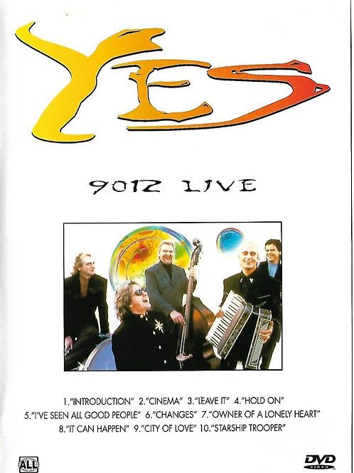 YES - 9012 LIVE DVD