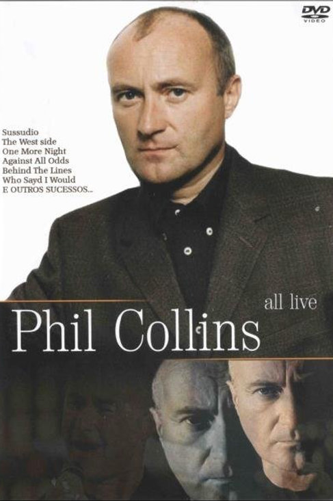 PHIL COLLINS - ALL LIVE DVD