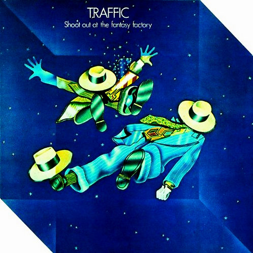 TRAFFIC - SHOUT OUT AT THE FANTASY FACTORY LP