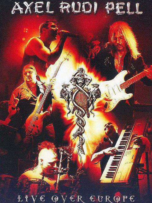AXEL RUDI PELL - LIVE OVER EUROPE DUPLO DVD