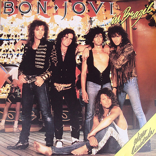 BON JOVI - IN BRAZIL LP
