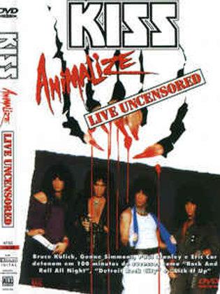 KISS - ANIMALIZE LIVE UNCENSORED DVD