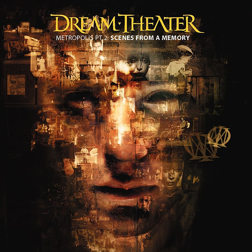 DREAM THEATER - SCENES FROM A MEMORY CD