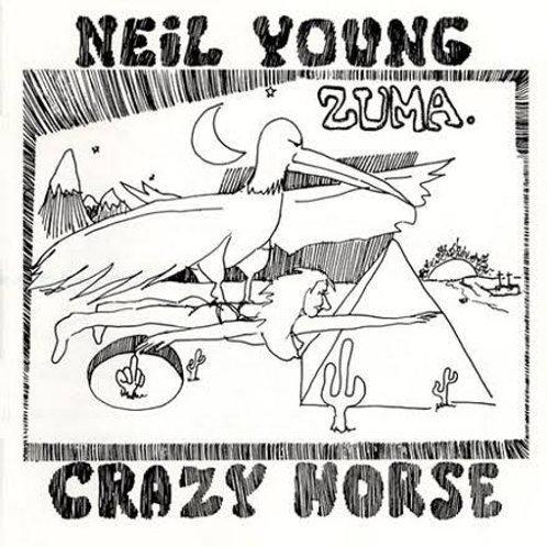 NEIL YOUNG & CRAZY HORSE - ZUMA LP