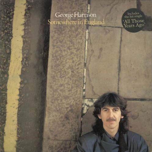 GEORGE HARRISON - SOMEWHERE IN ENGLAND LP