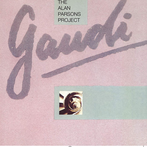 THE ALAN PARSONS PROJECT - GAUDI CD