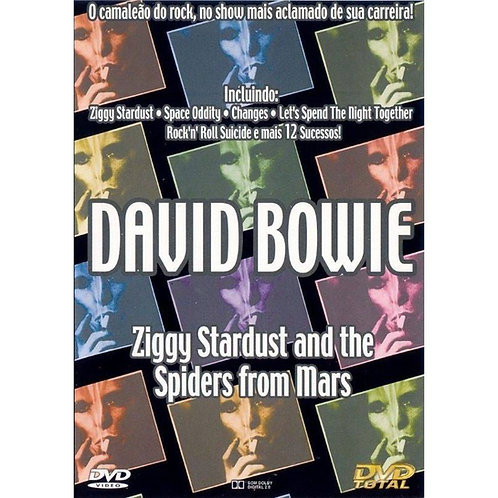 DAVID BOWIE - ZIGGY STARDUST AND THE SPIDERS FROM MARS DVD