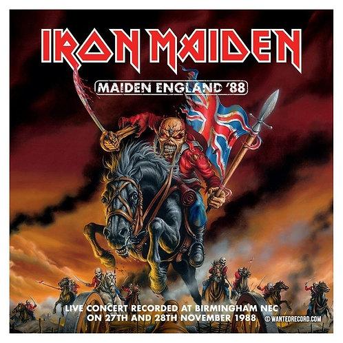 IRON MAIDEN - ENGLAND 88 CD