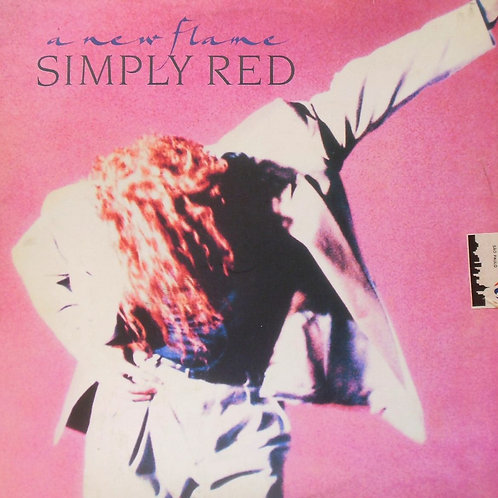 SIMPLY RED - A NEW FLAME LP