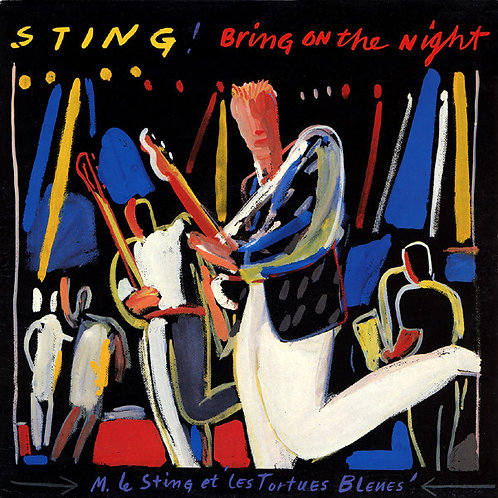 STING - BRING ON THE NIGHT duplo LP