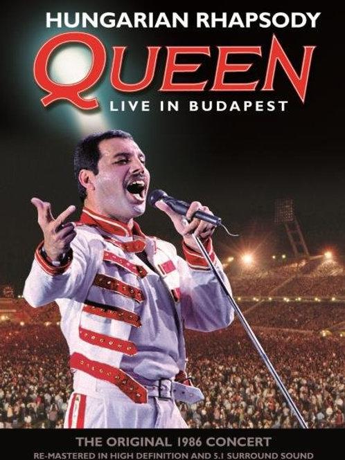 QUEEN - HUNGARIAN RHAPSODY 'DVD