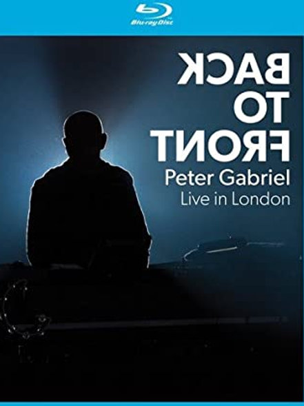 PETER GABRIEL - BACK TO FRONT LIVE LONDON BLU-RAY