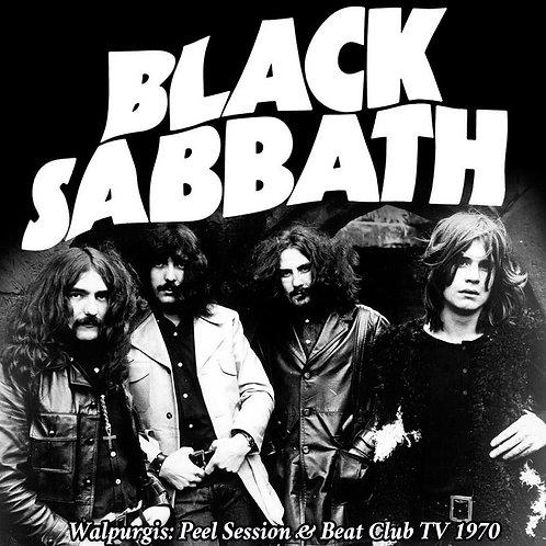 BLACK SABBATH - WARPURGIS: PEEL SESSION & BEAT CLUB TV 1970 CD
