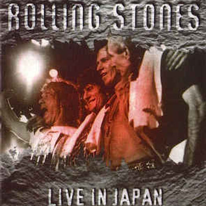 THE ROLLING STONES - LIVE IN JAPAN DUPLO CD