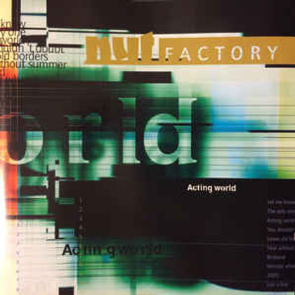 NUT FACTORY - ACTING WORLD CD