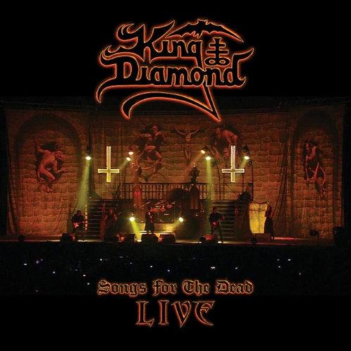 King Diamond - Songs For The Dead Live - Digipak CD + 2 DVD