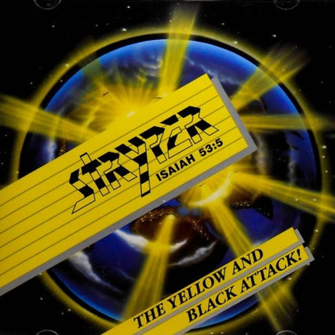 STRYPER - THE YELLOW AND BLACK ATTACK! CD