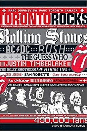 THE ROLLING STONES - TORONTO ROCKS DVD