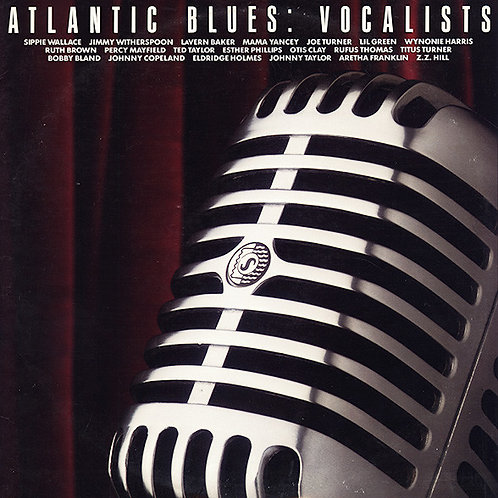 ATLANTIC BLUES - VOCALISTS DUPLO LP