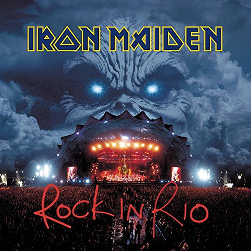 IRON MAIDEN - ROCK IN RIO DUPLO CD