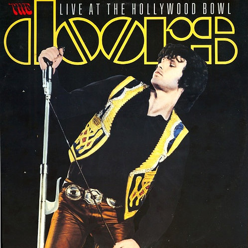 THE DOORS - LIVE AT THE HOLLYWOOD BOWL LP