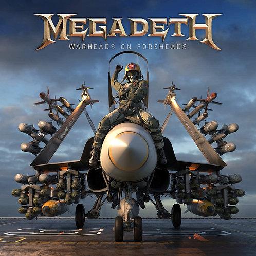 MEGADETH - WARHEADS FOREHEADS TRIPLO CD BOX