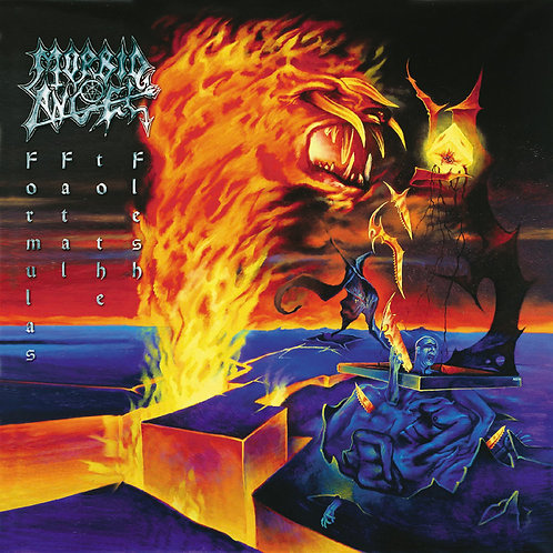 MORBID ANGEL - FORMULAS FATAL TO THE FLASH CD