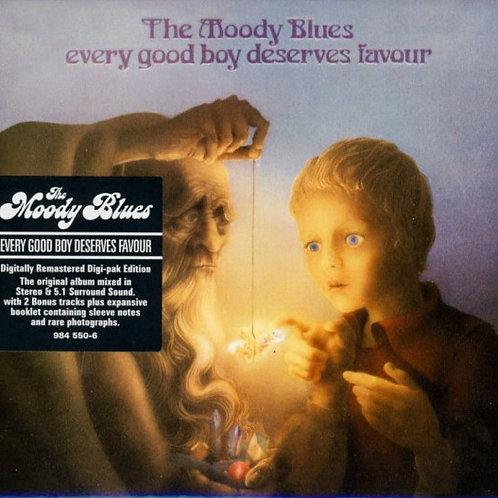 THE MOODY BLUES - EVERY GOOD BOY DESERVES FAVOUR SACD