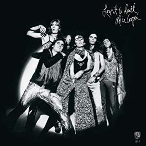 ALICE COOPER - LOVE IT TO DEATH LP