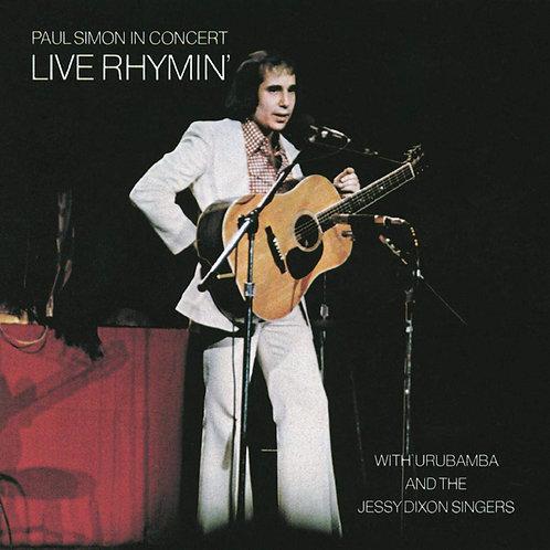 PAUL SIMON IN CONCERT - LIVE RHYMIN LP