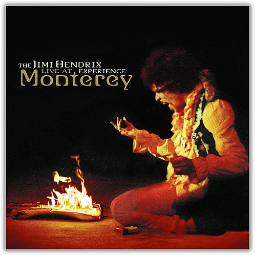 THE JIMI HENDRIX - LIVE AT MONTEREY LP
