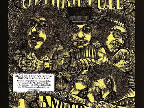 JETHRO TULL - STAND UP COLLECTOR´S EDITION BOX