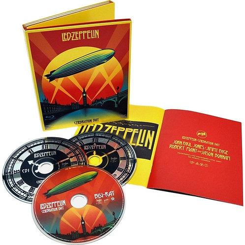 LED ZEPPELIN - CELEBRATION DAY DVD+2CDS DIGIPACK