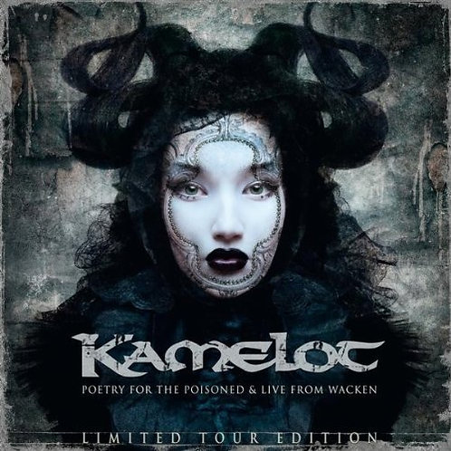 KAMELOT - POETRY FOR THE POISONED DUPLO CD