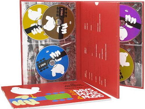 WOODSTOCK 40 ANOS - 3 DAYS OF PEACE & MUSIC BOX SET