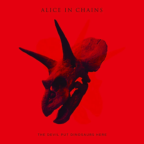 ALICE IN CHAINS - THE DEVIL PUT DINOSAURS HERE CD