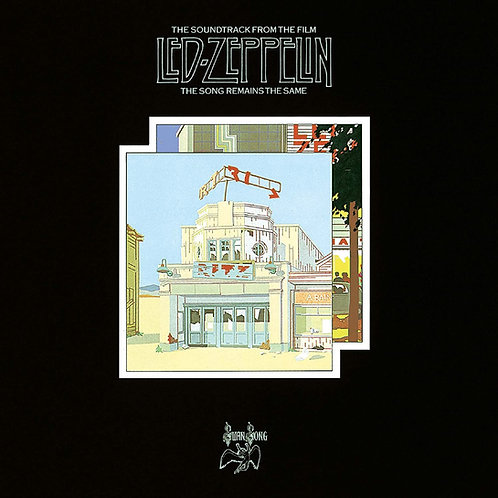 LED ZEPPELIN - THE SOUNDTRACK FROM THE FILM LP