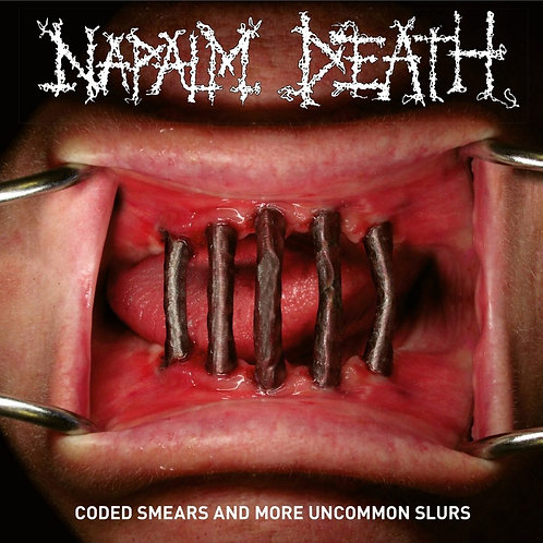 NAPALM DEATH - CODED SMEARS AND MORE UNCOMMON SLURS DUPLO CD