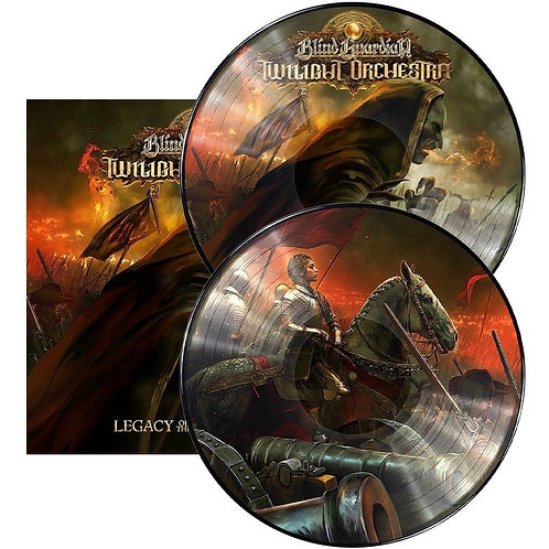 BLIND GUARDIAN - TWILIGHT  ORCHESTRA LEGACY OF THE DARK LANDS DUPLO CD