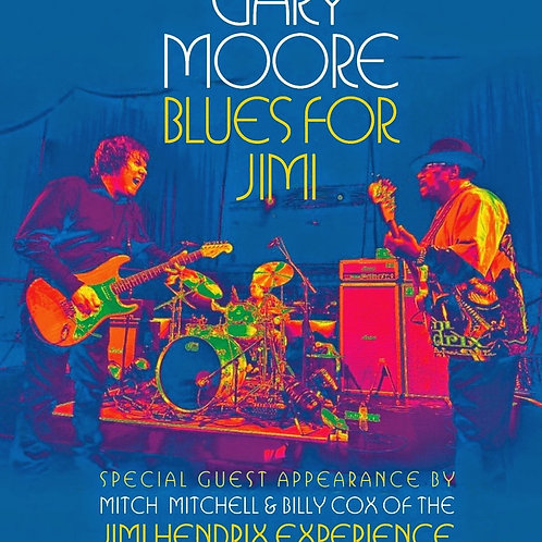 GARY MOORE - BLUES FOR JIMI BLU-RAY
