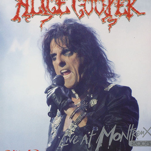 ALICE COOPER - LIVE AT MONTREUX 2005 BLU-RAY