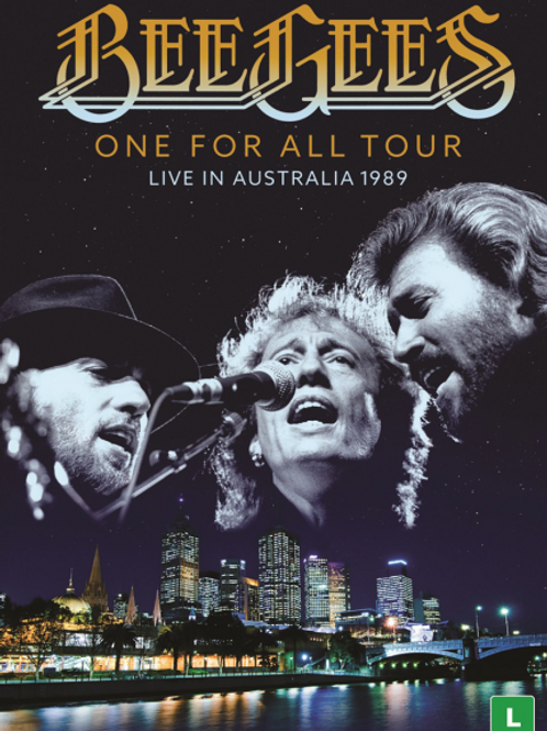 BEE GEES - ONE FOR ALL TOUR 1989 DVD