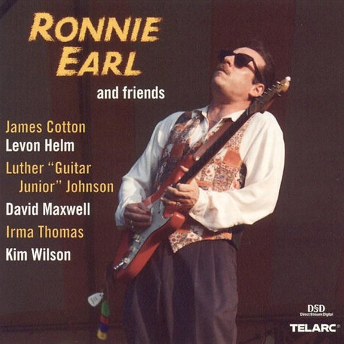 RONNIE EARL - AND FRIENDS CD